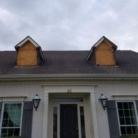 soffit and fascia / dormer repair / paint